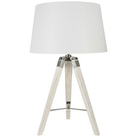 $130 Robust Tripod Table Lamp 72cm H x 35 W | Freedom Furniture ...