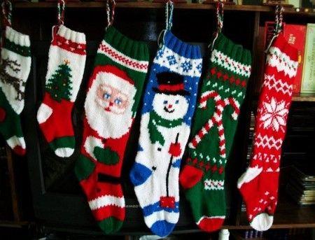 Knitted christmas stocking patterns fair isle - Knitting ...