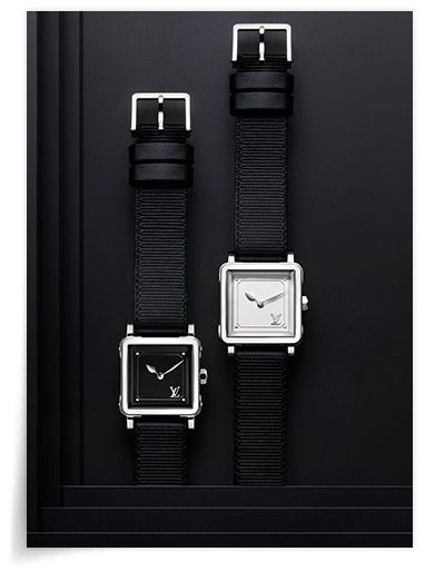 Emprise Louis Vuitton  http   www.vogue.fr joaillerie le-bijou-du-jour articles montre-emprise -le-temps-au-carre-selon-louis-vuitton 24240 137b7f8fbcc
