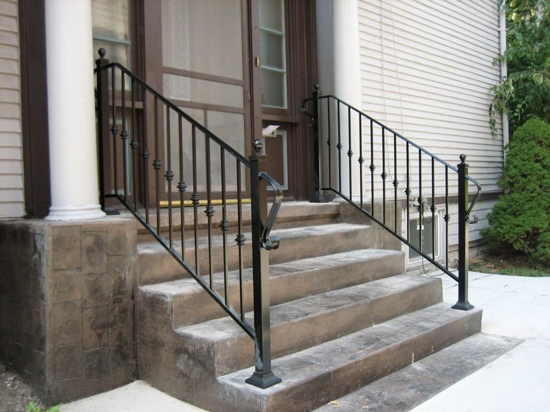 Best Custom Aluminum Railings Old Dutchman S Wrought Iron 400 x 300