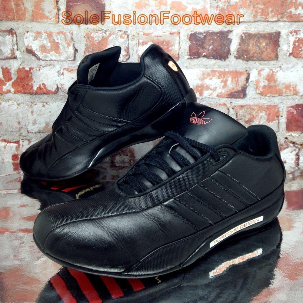 efe1f1b9e03 adidas Mens Porsche Design S2 Shoes Black size 7 Rare Sneakers US 7.5 EU 40  2
