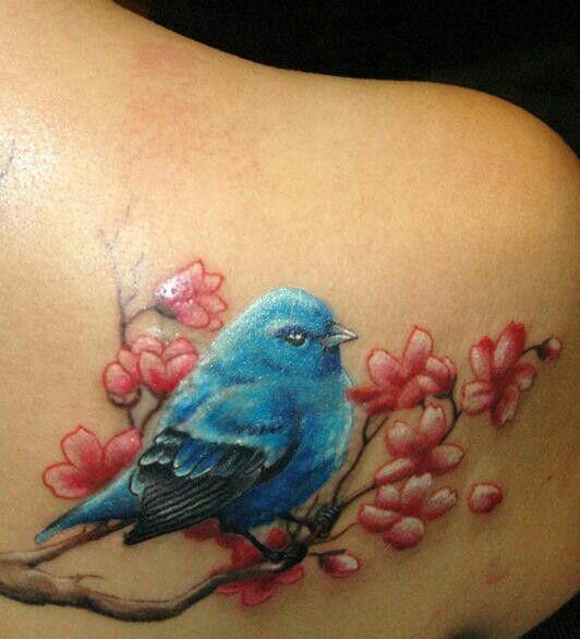 I Love Bluebirds Tattoos Tattoos Tattoos For Women Tattoo Girls