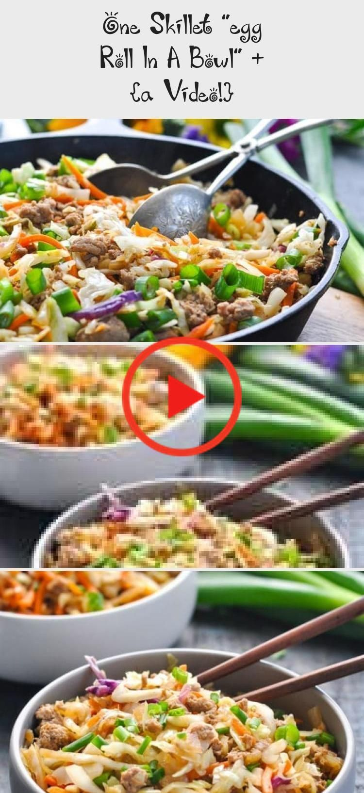 Egg Roll In A Bowl Vegetarian & Egg Roll In A Bowl #eggrollinabowl egg roll in a bowl vegetarian