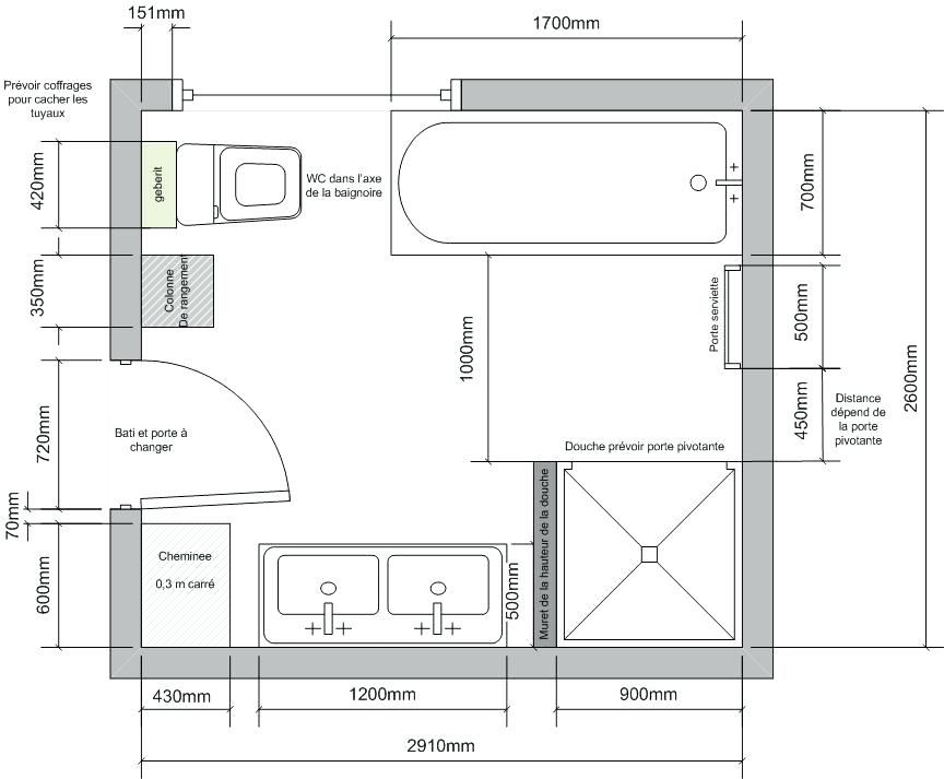 Choquant Plan Salle De Bain 6m2 Plan Salle De Bain 6m2 Sans Wc Salle De Bain 6m2 Plan Salle De Bain Salle De Bain 4m2