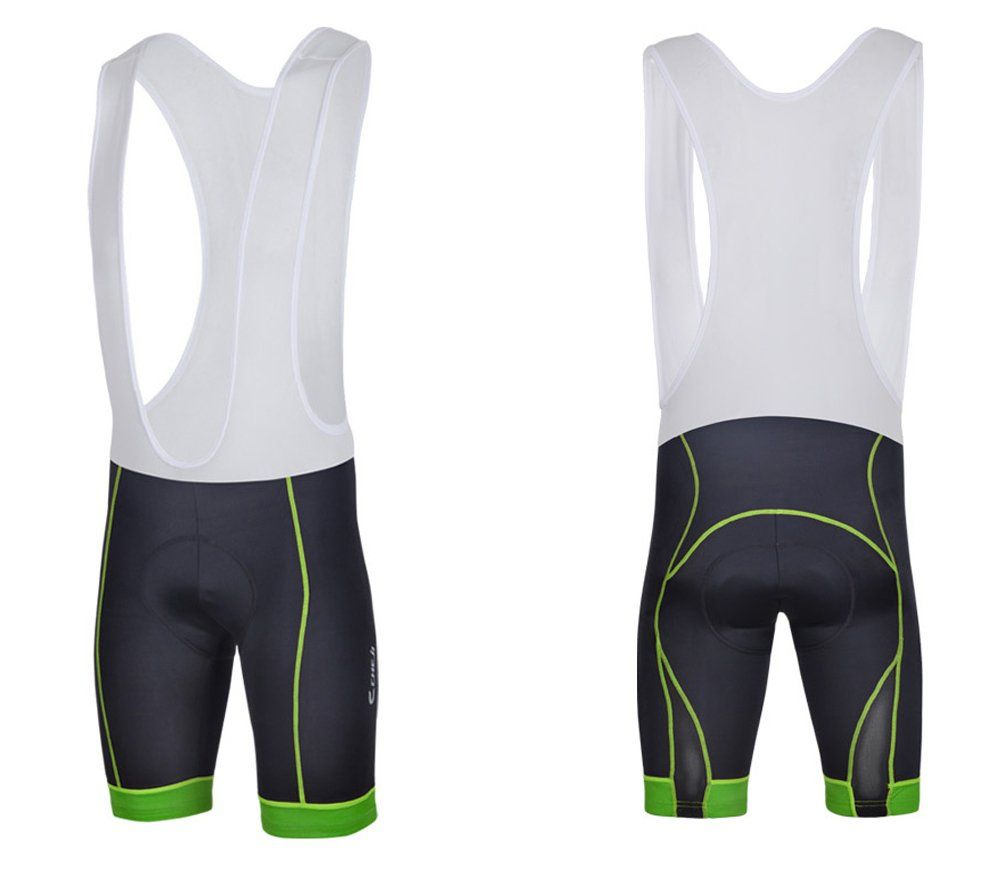 abe89294d6a13 Sponeed Men's Cycle Shorts Tights Bicycle Bike Padded Short Bibs ...