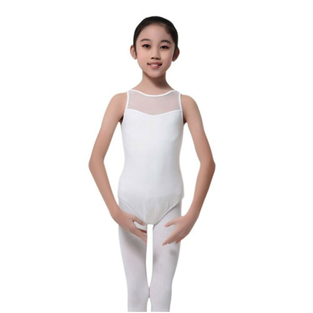 Toddler Girl Baby Sleeveless Leotard for Girl Gymnastics Ballet Classic Cotton X
