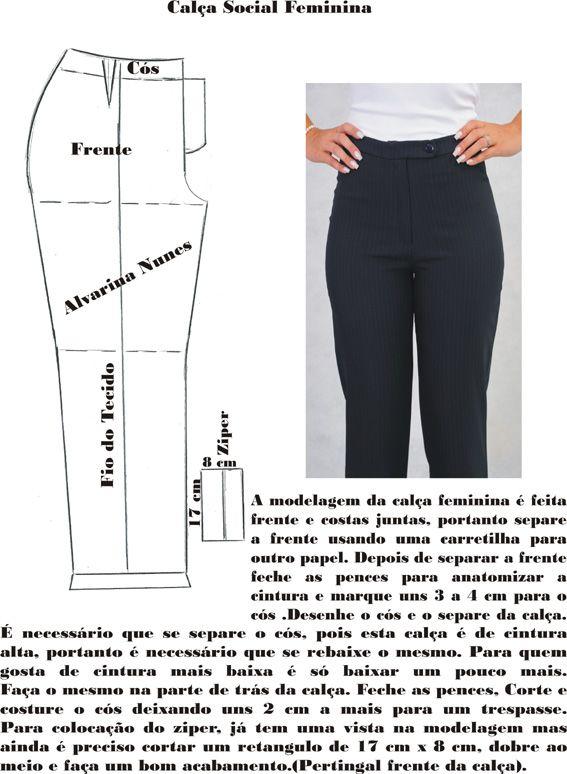 Costura e Modelagem | Costura | Pinterest | Sewing, Sewing patterns ...