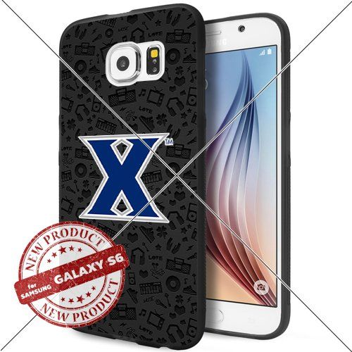 Case Xavier Musketeers Logo NCAA Gadget 1734 Samsung Galaxy S6 Black Case Smartphone Case Cover Collector TPU Rubber original by Lucky Case [Music] Lucky_case26 http://www.amazon.com/dp/B017X1477A/ref=cm_sw_r_pi_dp_stQswb0MTGT15