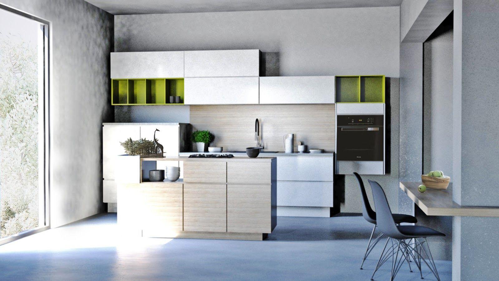 Allwood kitchen design New kitchen design rendering Oct