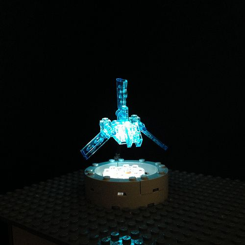 Lego Mocs Micro ~ Hologram Imperial Shuttle   by Miro78
