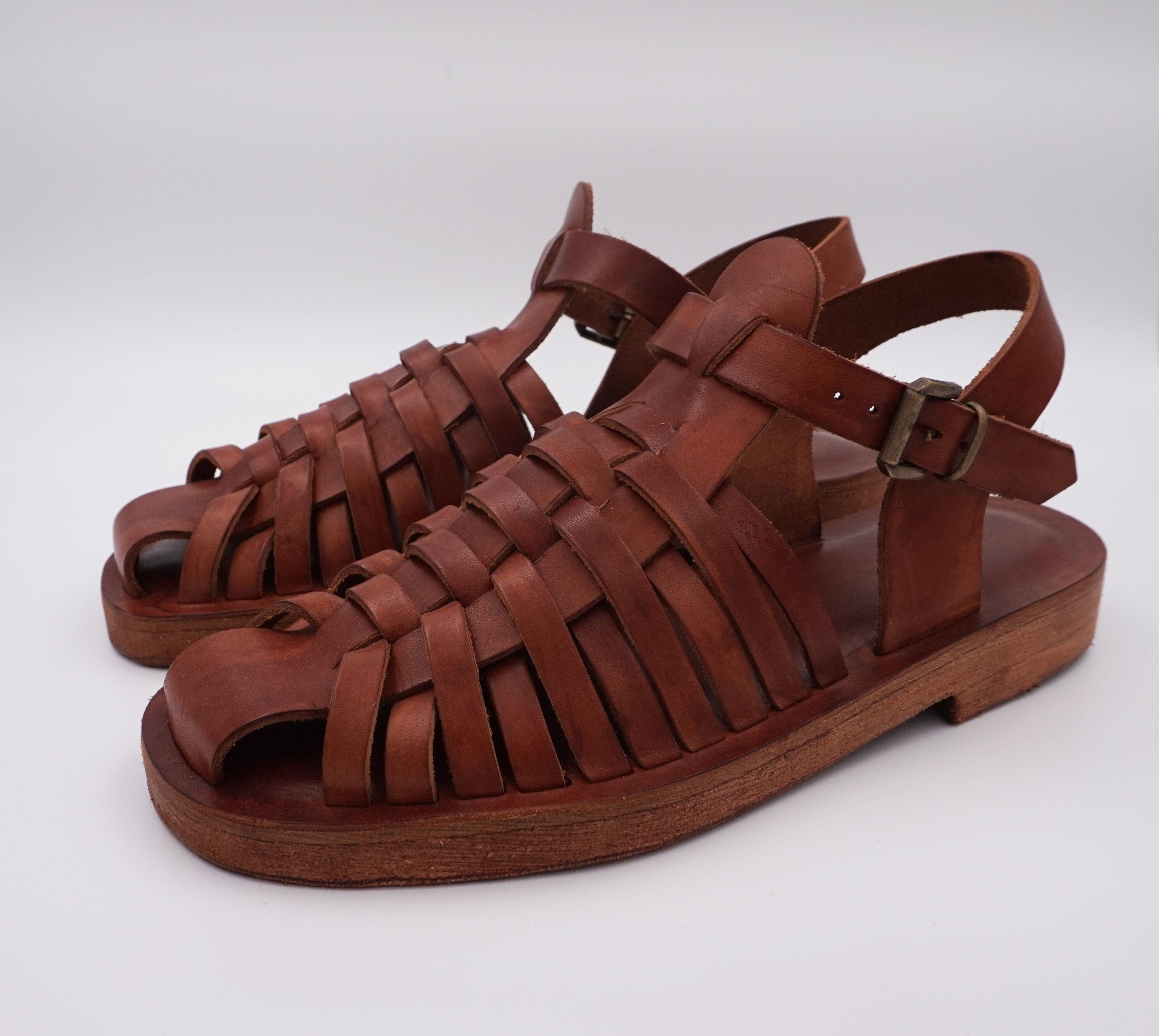diversamente 2019 autentico ultime versioni Pin su Men Leather Sandals - sandali uomo