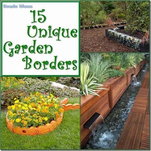 15 unique and unusual garden border and edging ideas gardening 15 unique and unusual garden border and edging ideas gardening landscaping recycled workwithnaturefo