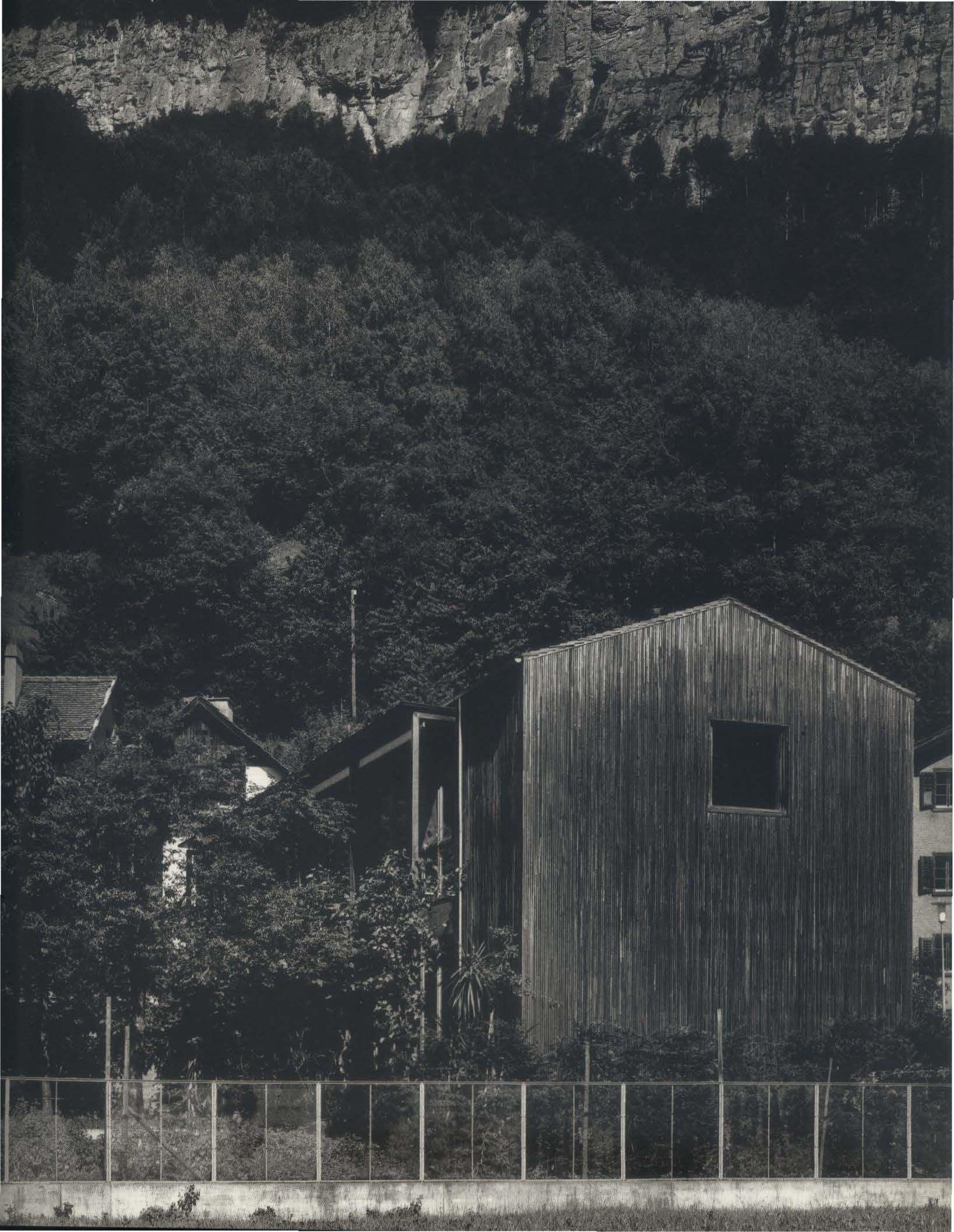 1986 Atelier Zumthor, Haldenstein, Graubünden, Switzerland