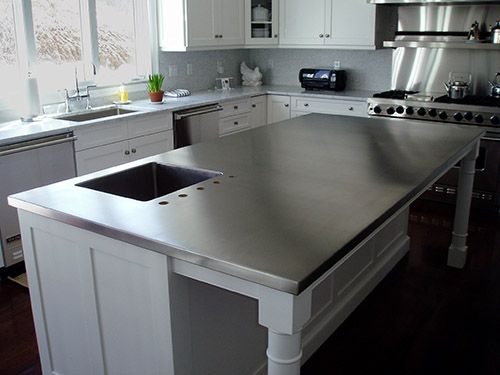 Custom Stainless Steel Countertops Stainless Steel Kitchen