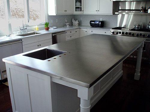 Custom Stainless Steel Countertops Stainless Steel Kitchen