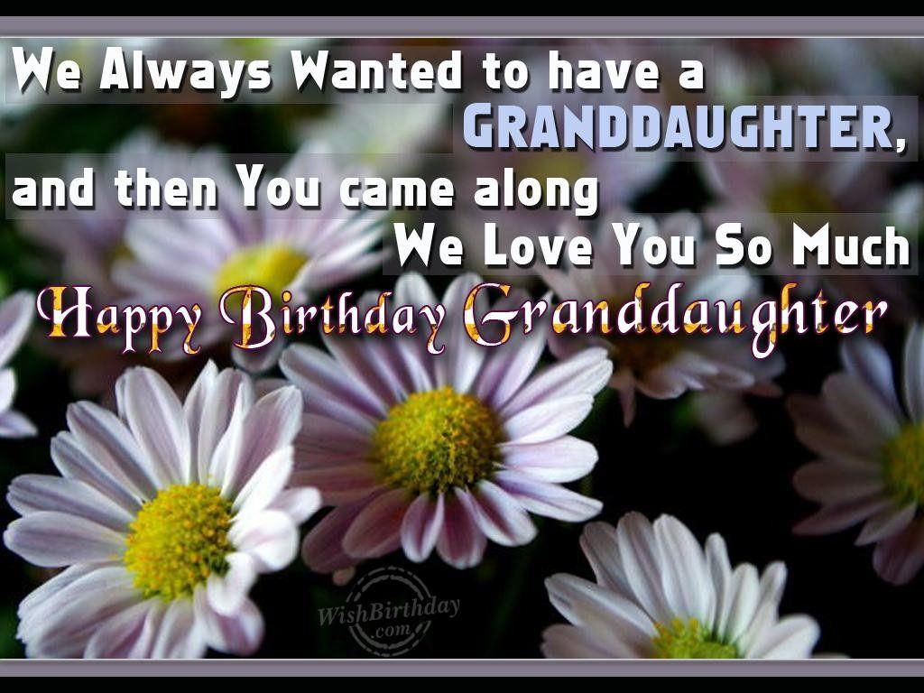 Image Result For Granddaughter Birthday Wishes Grandchildren