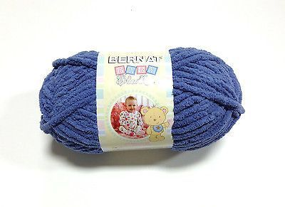 Bernat Baby Blanket Yarn in Baby Denim