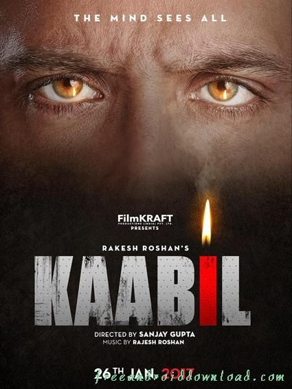 Click on Image to download Kaabil movie poster
