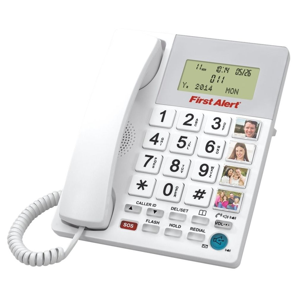 FIRST ALERT SFA3275 Big-Button Corded Telephone with Emergency Key electronic consumer