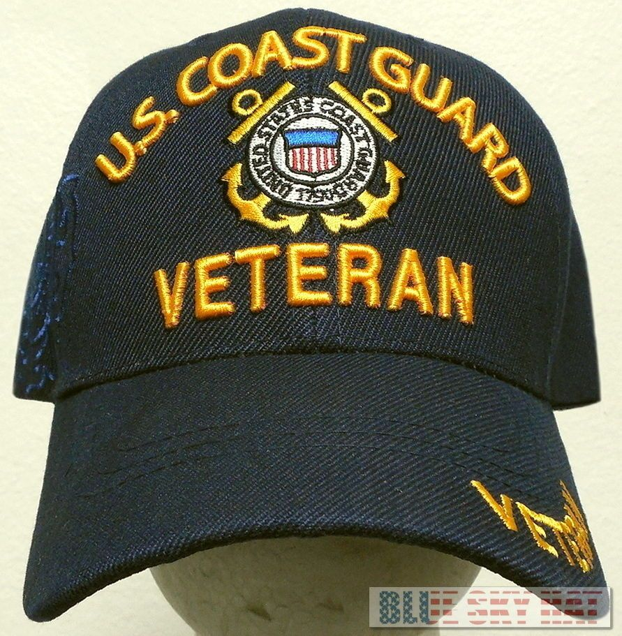 NEW LICENSED U.S. COAST GUARD USCG VETERAN VET SEMPER PARATUS 1790 CAP HAT  BLUE  Premiumhat  BaseballCap 4ef934791f7f