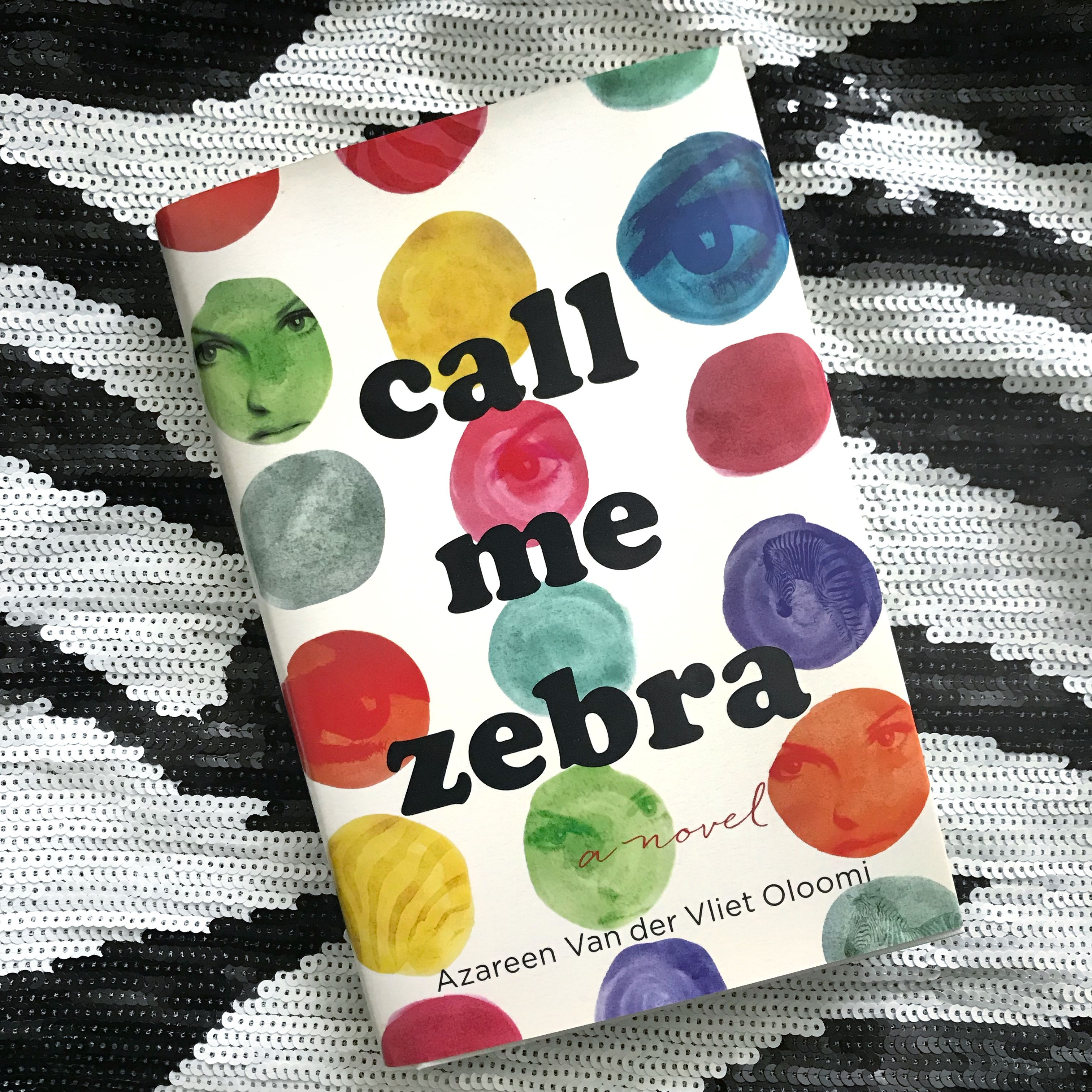 We've been spending time with our book date CALL ME ZEBRA by Azareen Van der Vliet Oloomi. Add this book about books to the TBR!