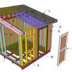 6x12 Firewood Shed Plans
