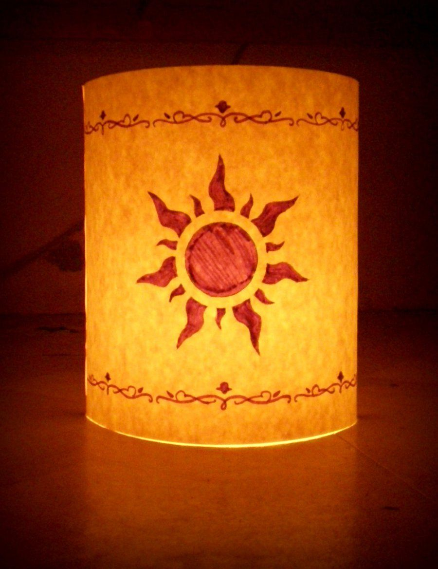 Lanterns from tangled lantern disney by
