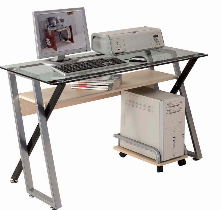computerschreibtisch computer arbeitstisch von sixbros computertisch computerschreibtisch. Black Bedroom Furniture Sets. Home Design Ideas