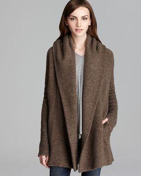 169b329bd Vince Sweater Coat - Tweed