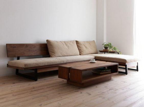 Inspirational Wood Sofas 40 Photos Perfect Wood Sofa Furniture Design Furniture