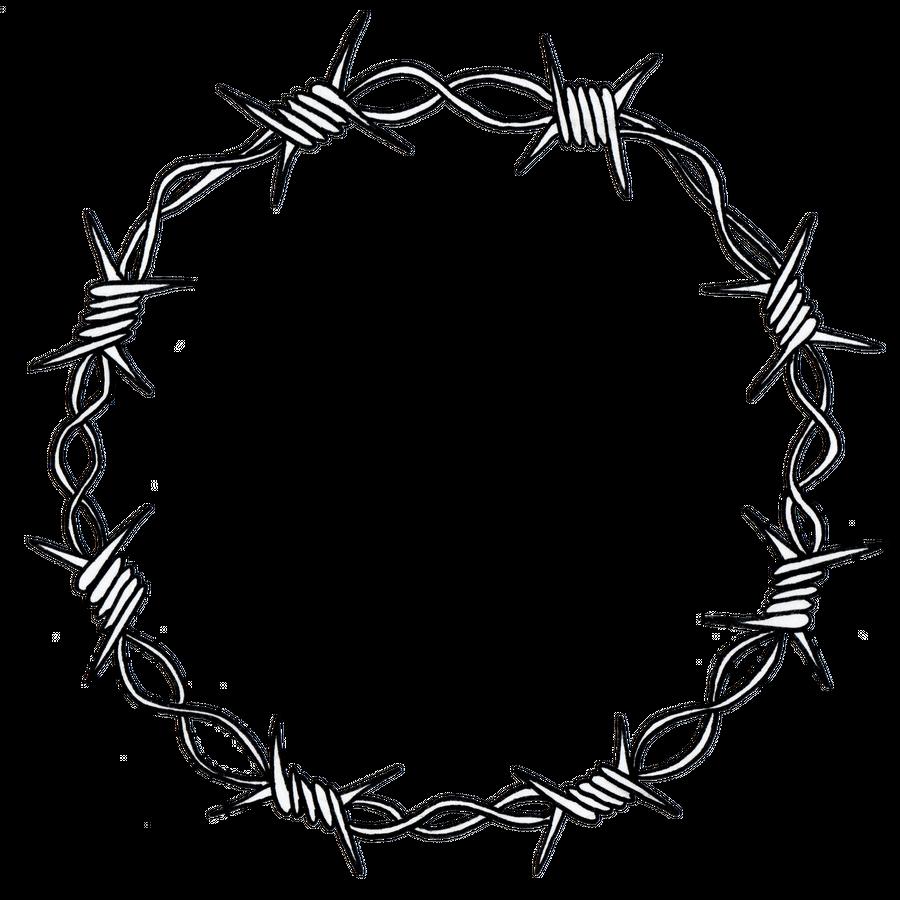 Barbed Wire Wreath Art Print By Alishas X Small Barbed Wire Tattoos Tattoo Flash Art Sketch Tattoo Design