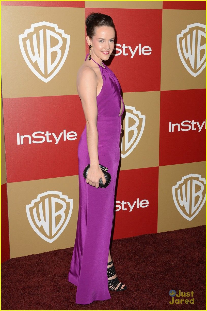 Jamie Chung & Jena Malone: InStyle Golden Globe Party 2013 | jamie chung jena malone instyle gg party 01 - Photo Gallery | Just Jared Jr.
