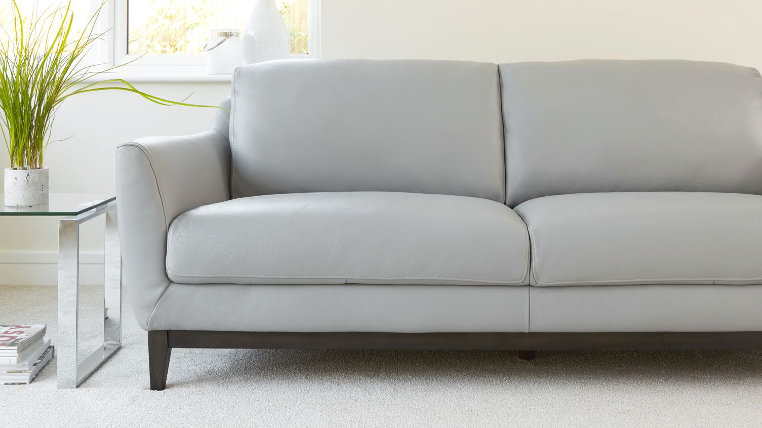 Seater Leather Sofa From Danetti