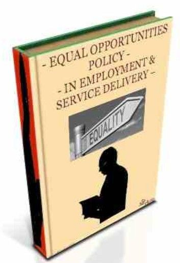Equal Opportunities Policy In Employment & Service