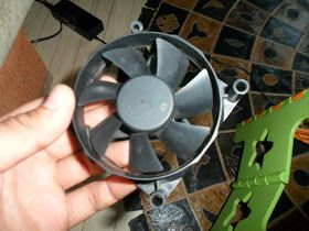 This post is not about Embedded Systems. But it is about a DIY project of mine. Old PC Fan to Wind Turbine.   I looked at the some old PC Fa...