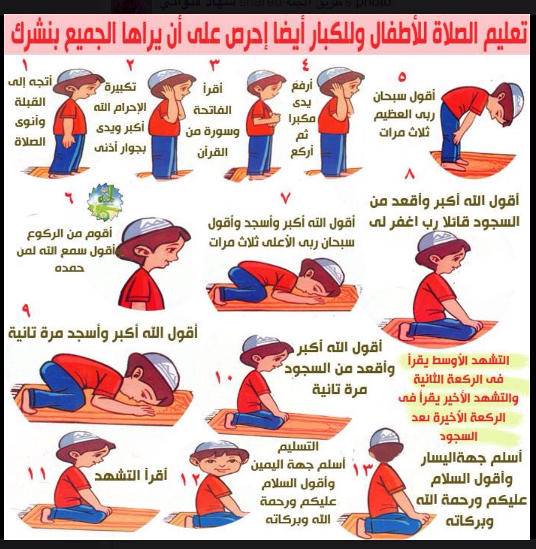 تعليم الصلاة Islam For Kids Islamic Kids Activities Muslim Kids Activities
