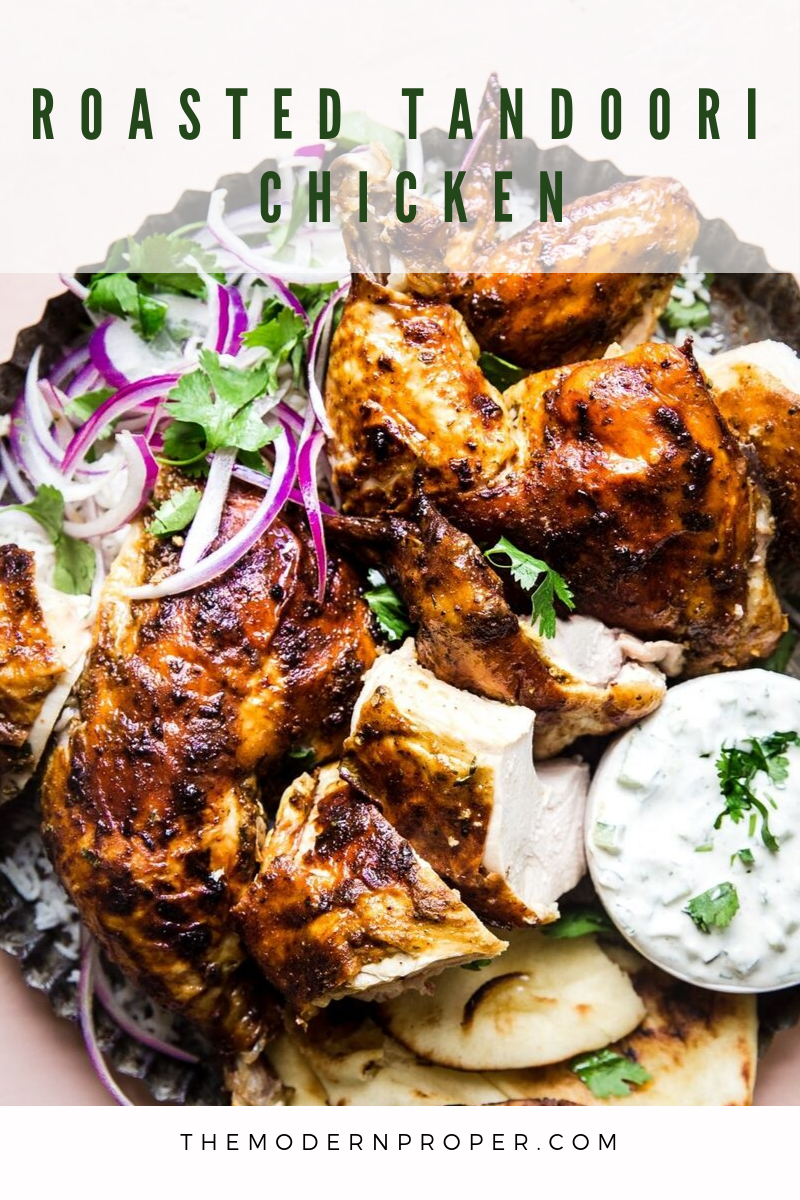 Roasted Tandoori Chicken #tandoorichicken