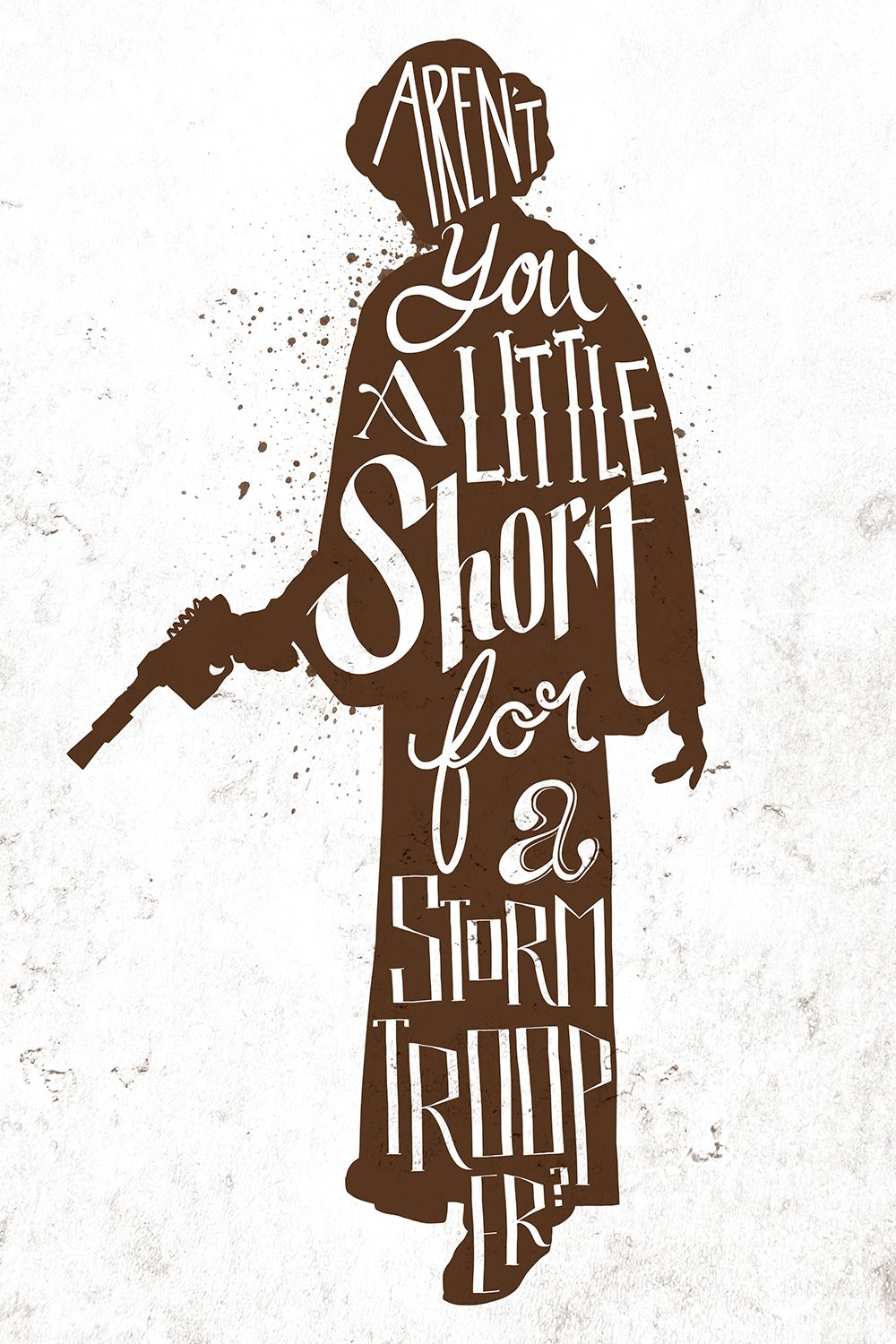 Star Wars Quotes Star Wars Handlettering Quotes  Createdjiaqi He  Star Wars .
