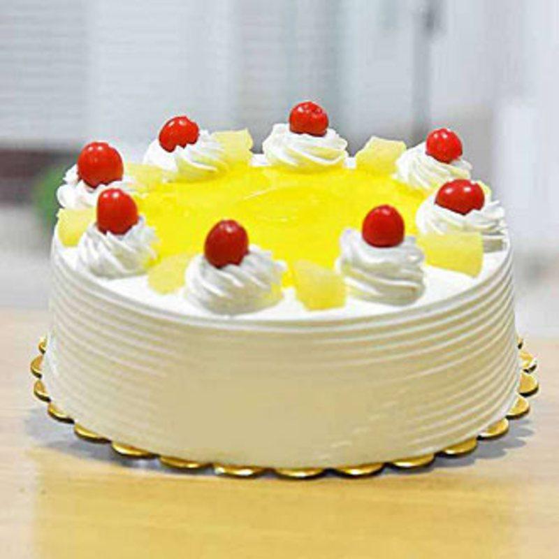 1 Kg Pineapple Cake Archies Online Happyshappy India S Best Ideas Products Horosco Pineapple Cake Recipe Cake Recipes Easy Homemade Easy Homemade Cake