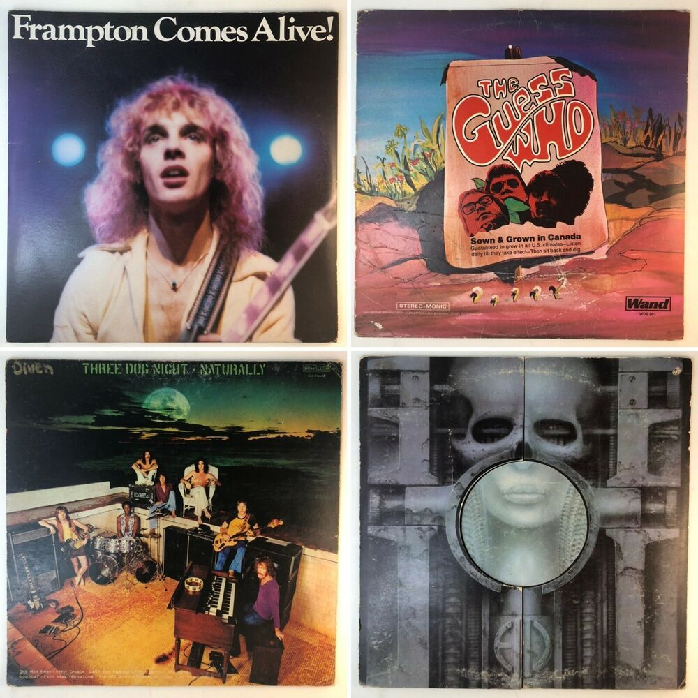 4 Vinyl Lot The Guess Who Three Dog Night Emerson Frampton Comes Alive Lp Record Ebay In 2020 Three Dog Night The Guess Who Frampton Comes Alive