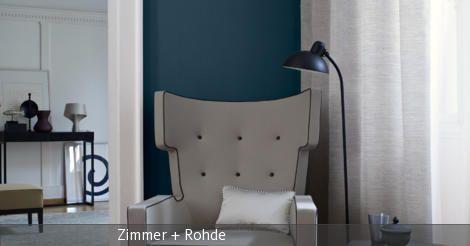Leseecke mit grauem Sessel   Gemusterte teppiche, Wohnideen ...