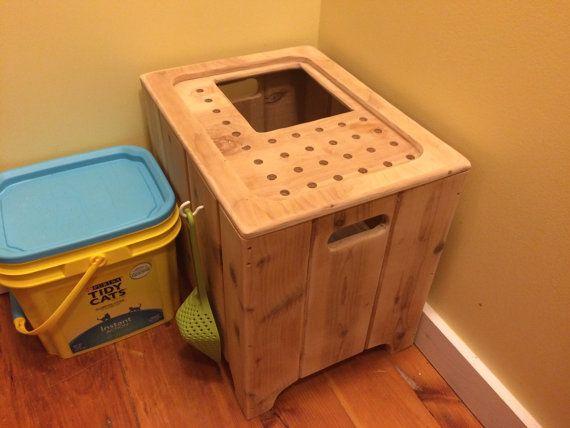 31+ Homemade cat litter box wooden enclosure ideas in 2021