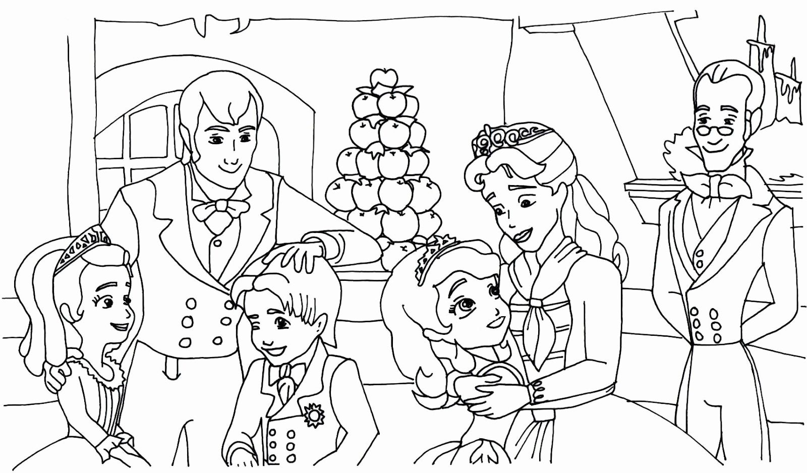 Sofia The First Coloring Book Lovely Sofia The First Coloring Pages Best Coloring Pages For Kids In 2020 Mom Coloring Pages Coloring Pages Family Coloring Pages