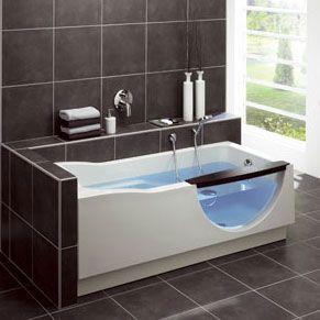 Handige baden van Duscholux - Badkamer Magazine | Bany Laia | Pinterest