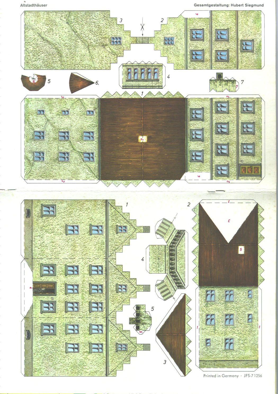 pin von josef auf papercrafts basteln bastelbogen und basteln mit papier. Black Bedroom Furniture Sets. Home Design Ideas