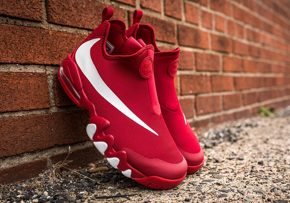 "Nike Big Swoosh ""Gym Red"" Sneakers, Mens boots fashion"