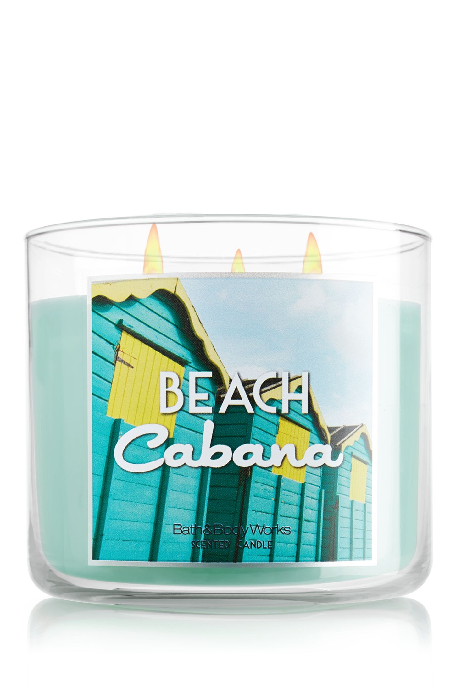 Home & Garden Bath & Body Works BEACH CABANA Large 3 Wick Candle  Jasmine orange blossom musk Décor Candles