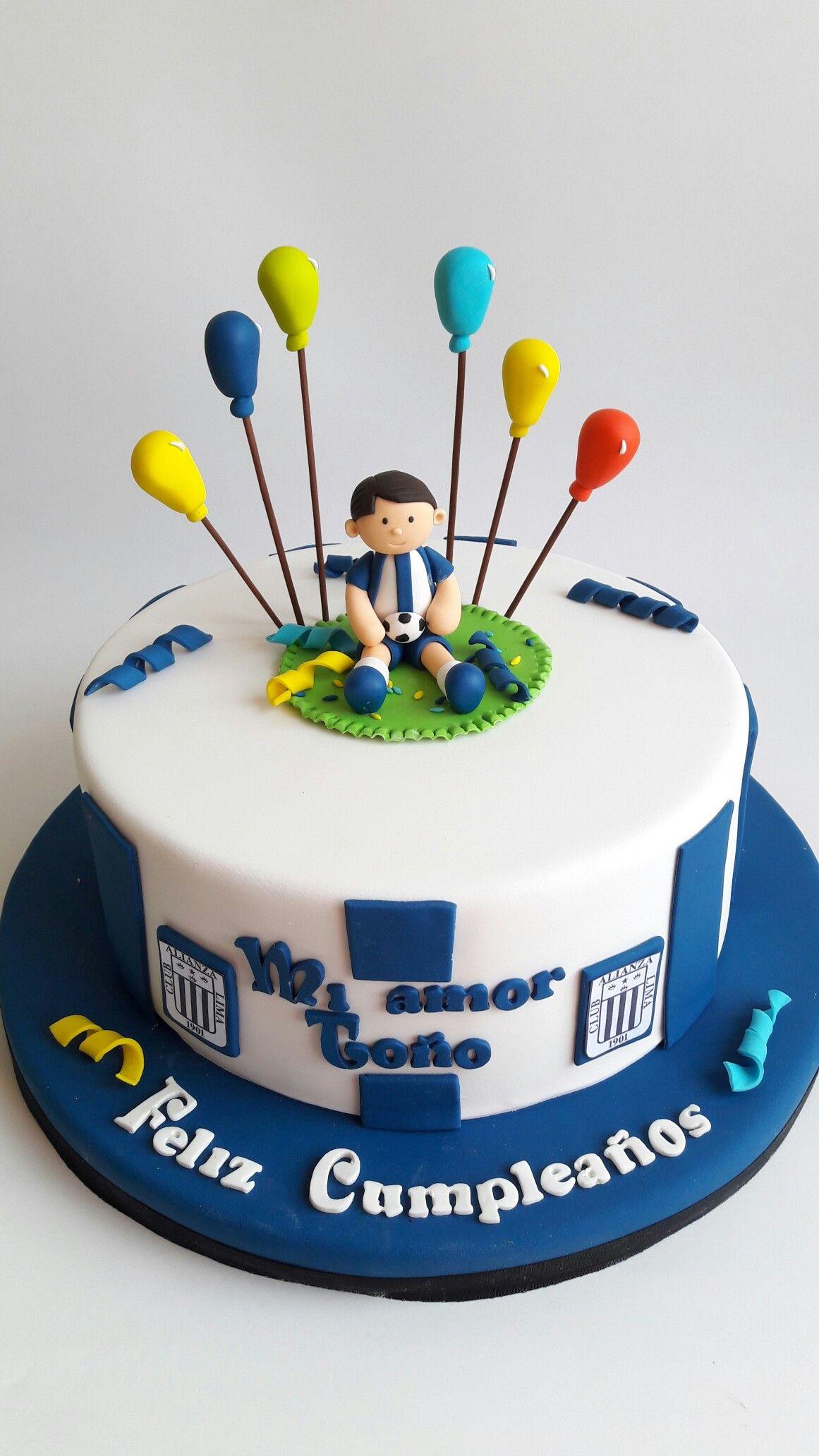 Torta De Alianza Lima Tortas Pinterest
