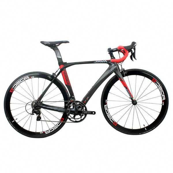 Java Feroce Carbon 700c Road Bike Apple Quince Bikeaccessories