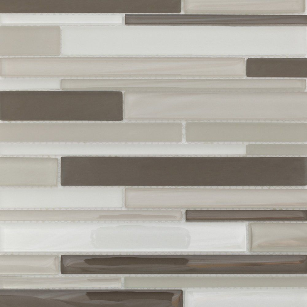 Kitchen Backsplash Tiles 12x12 Sheets For Shower Bathroom Wall Mosaic Glass Grey White Brown Martini Mosaic Glass Mosaic Tiles Mosaic Glass Best Floor Tiles
